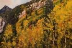 Early Morning Aspens above Sundance