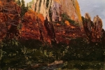 Straight Up Land at Zion