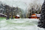 Tetsa River Snow