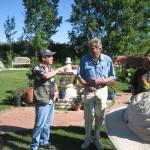Kevin Macpherson and Walt Gonski